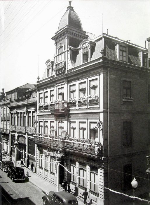 Grande Hotel do Porto - a história do hotel - 1880