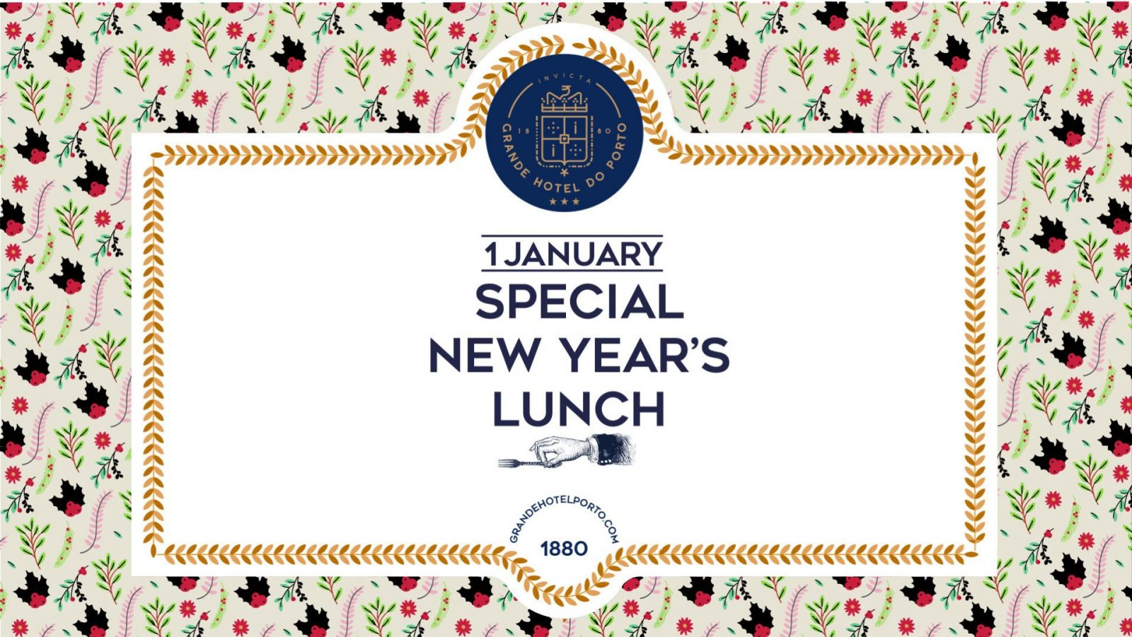 Grande Hotel do Porto - New Year's Lunch